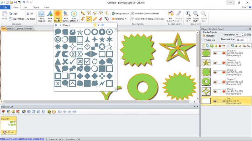GIF Creator, GIF Edit, GIF Editor, Animated GIF Software