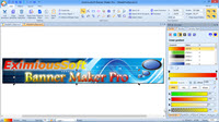 Main interface of Banner Maker Pro