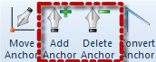 Add or Delete Anchors