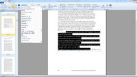 Editing text using ePage Creator