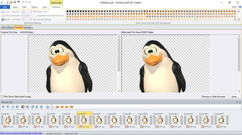 Resultado de imagen de EximiousSoft GIF Creator